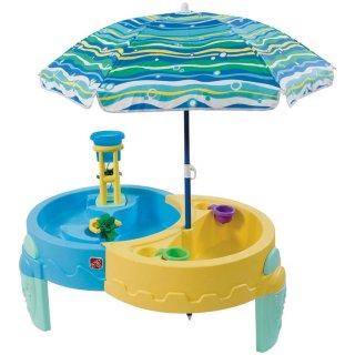 要出典 水遊び用おもちゃ ステップ2 シャーディ オアシス サンド&ウォーター プレイ テーブル 水遊び・砂場