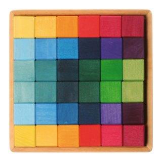 【要出典】 出産祝いにもらって嬉しかったもの グリムス社 にじのキューブ カラーキューブ 小 36p