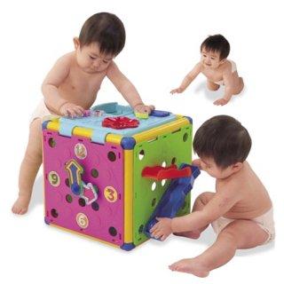 要出典 0歳~1歳の知育玩具 頭と体の知育ボックスDX
