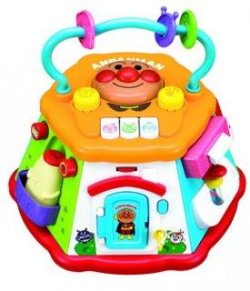 要出典 0歳~1歳の知育玩具 アガツマ アンパンマン おおきなよくばりボックス