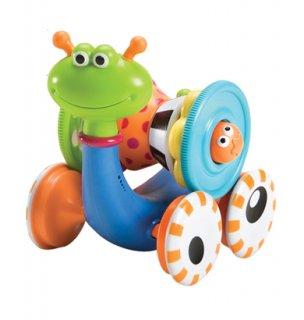 要出典 0歳~1歳の知育玩具 ユーキッド とことこかたつむり