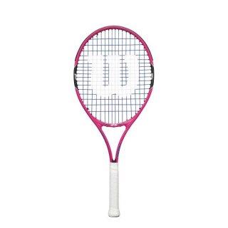 要出典 テニスラケット 子供 ウイルソン 硬式テニスラケット ジュニア Burn Pink 25