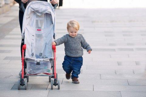 赤ちゃん ベビーカー B型 おでかけ
