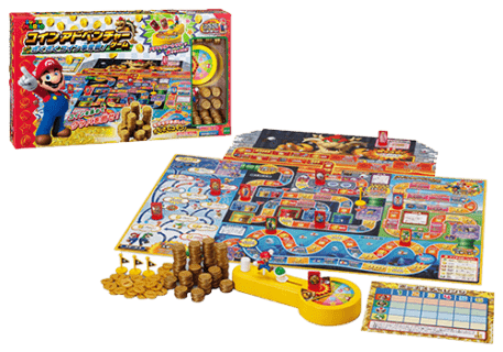 要出典 人生ゲーム  スーパーマリオ コインアドベンチャーゲーム ざくざくコイン争奪戦!