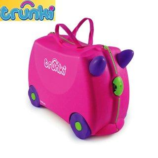要出典 子供用キャリーバッグ トランキ ライドオン・トランキ 子ども用 キャリーバッグ