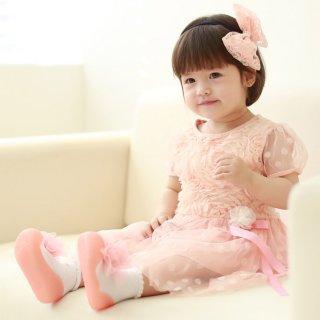要出典 1歳 誕生日 女の子 アティパス ベビーシューズ コサージュ