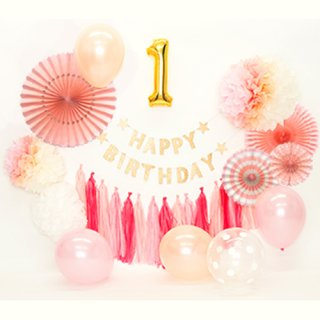 要出典 1歳 誕生日 女の子 1stバースデーパッケージ 女の子