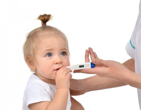 赤ちゃん 発熱 高熱 風邪 体温計 子供