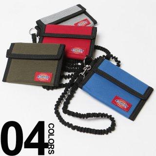 要出典 キッズ財布 ディッキーズ スウェット素材 マジックテープ 三つ折り財布