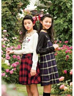 要出典 女子小学生のファッション メゾピアノジュニア