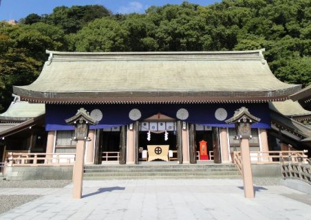要出典 七五三 九州・沖縄 照国神社