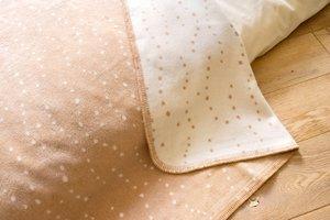 ベビー毛布 メイド・イン・アース オーガニックコットン綿毛布