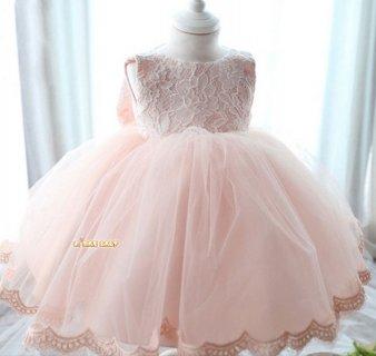 要出典 赤ちゃん 結婚式用ドレス ベビーワンピース リボン レース ベビーカレン