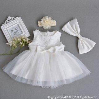 要出典 赤ちゃん 結婚式用ドレス ベビードレス セレモニー