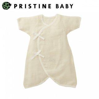 要出典 新生児 肌着 日本製 プリスティン・ベビー 新生児コンビ肌着