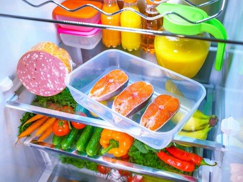 野菜 魚 肉 冷蔵庫