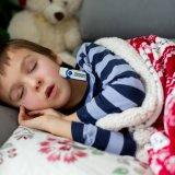 子供 熱 風邪 体温計 寝込む