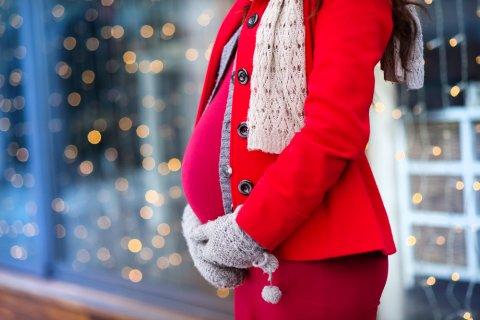 妊婦 冬 手袋 コート マフラー クリスマス