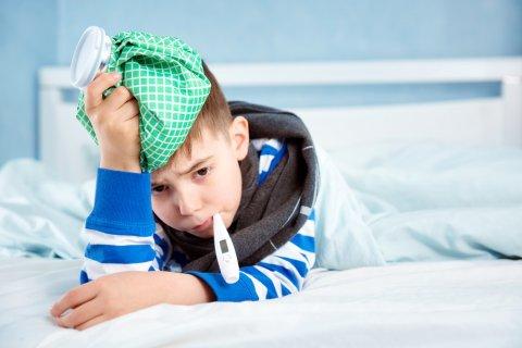 子供 発熱 高熱 風邪 体温計