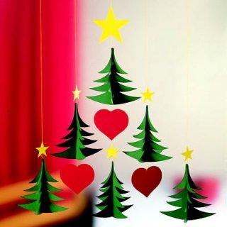 要出典 クリスマス 置物フレンステッド モビール クリスマスツリー 6