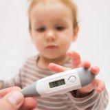 子供 赤ちゃん 風邪 発熱 高熱 体温計