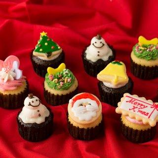 要出典 クリスマスケーキ人気2017 クリスマスカップケーキ10個セット