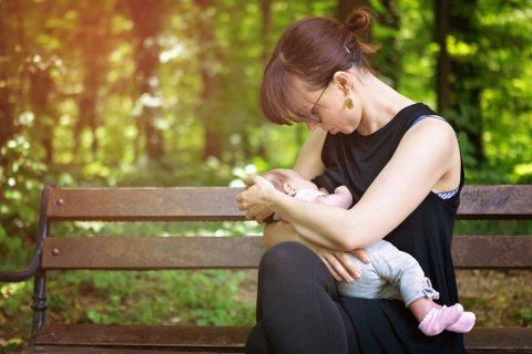 授乳 フォーマル 赤ちゃん ママ フォーマルウェア