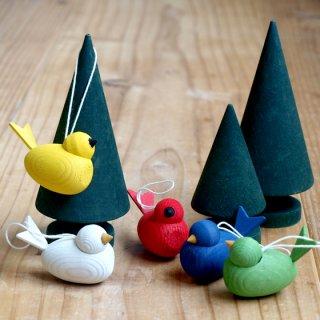 要出典 クリスマス オーナメント ボール 飾り クリスマス オーナメント ラッセントレー 木製 オーナメント バード