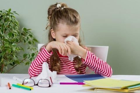鼻水 子供 鼻をかむ 風邪