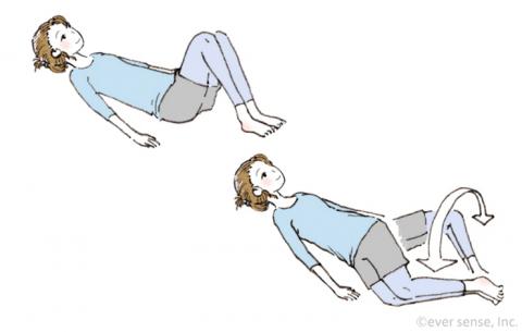 産後の下半身痩せ 骨盤体操 eversense