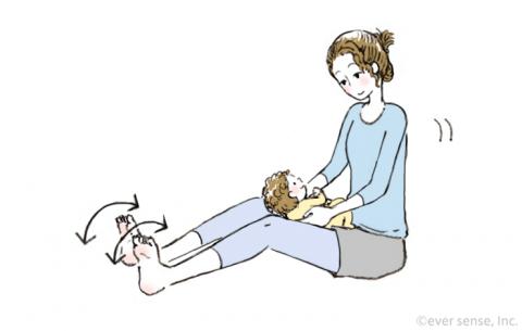 産後の下半身痩せ ゆらゆら体操 eversense