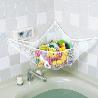 要出典 赤ちゃん お風呂グッズ スマートスタート お風呂ハンモック 抗菌加工 収納ネット