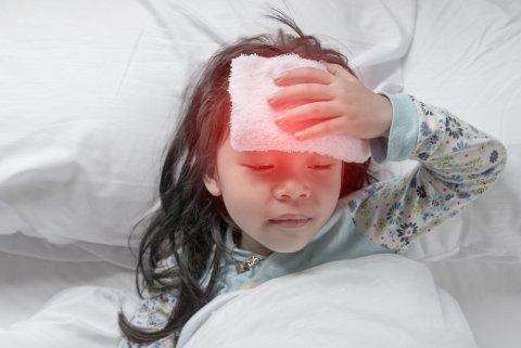 子供 発熱 高熱 風邪