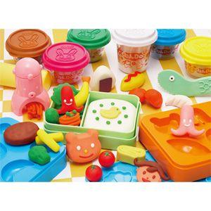 要出典 幼稚園 保育園 クリスマスプレゼント 交換 1000円 アガツマ ねんDo! ねんどでおべんとうセット