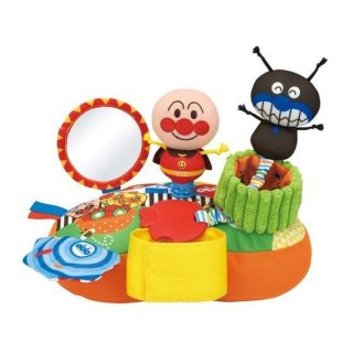 要出典 チャイルドシートおもちゃ ベビラボ アンパンマン どこでも!ニコニコあそボード