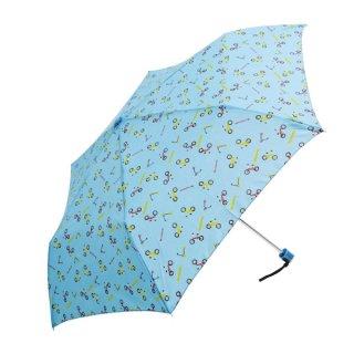 要出典 子供 折りたたみ傘 ウォーターフロント キッズボーイ 三つ折 折りたたみ傘