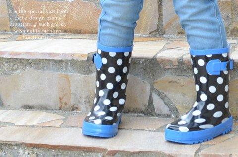 要出典 長靴 レインブーツ キッズ キッズ レインブーツ
