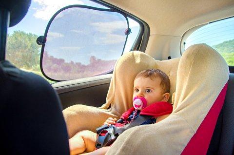赤ちゃん チャイルドシート 日よけ サンシェード 後部座席