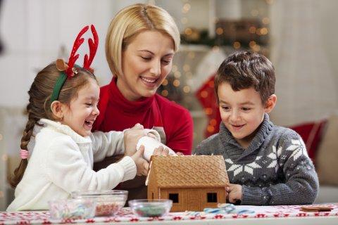 お菓子の家 作り方 作る 親子 クッキング クリスマス