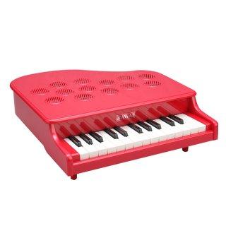 要出典 ピアノのおもちゃ KAWAI ミニピアノ P-25 ローズレッド