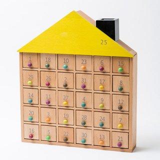 要出典 木製アドベントカレンダー ジジ アパートメント 31