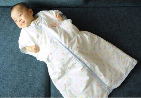 要出典 赤ちゃん スリーパー シャン・ド・クルール 日本製 羽毛スリーパー