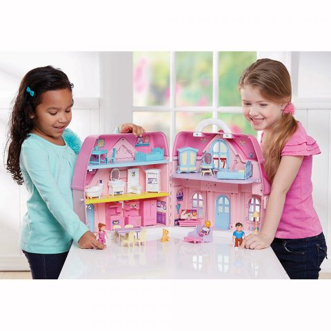 要出典 3歳 女の子 誕生日プレゼントYou&Me しあわせいっぱい ファミリードールハウス
