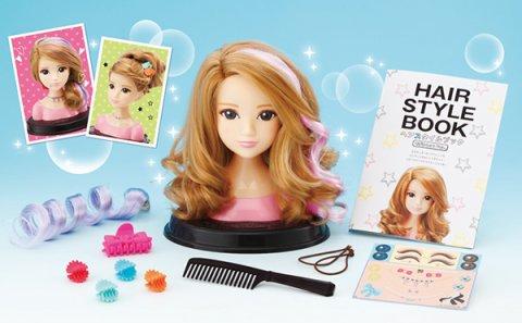 要出典 6歳 女の子 誕生日プレゼント ヘアメイクアーティスト カラーチェンジモデル