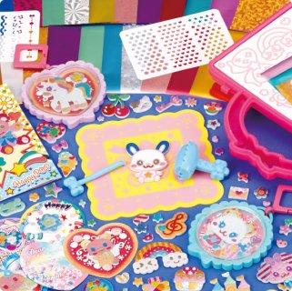 要出典 小学生の誕生日プレゼント パイロットインキ きらりんシールDX ラブリーチャーム&カードいっぱいセット