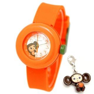 要出典 チェブラーシカ チェブラーシカ シリコンベルト腕時計