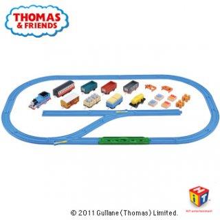 要出典 3歳 誕生日プレゼント 男の子 タカラトミー プラレール トーマスといっぱい貨車セット