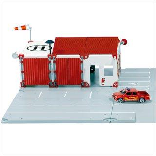 要出典 4歳 誕生日プレゼント 男の子 ボーネルンド ジク 輸入ミニカー ジクワールドシティ 消防署のある街