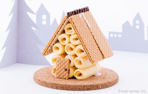 お菓子の家 バームロールハウス 完成