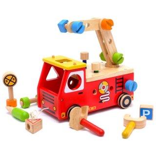 要出典 2歳 3歳 4歳 5歳 知育玩具 エデュテ アクティブ消防車